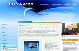 LunaWeb Home Page